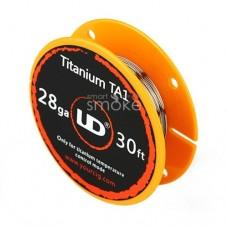 Проволока Titanium TA1 (0.32 мм) AWG 28 - 1м